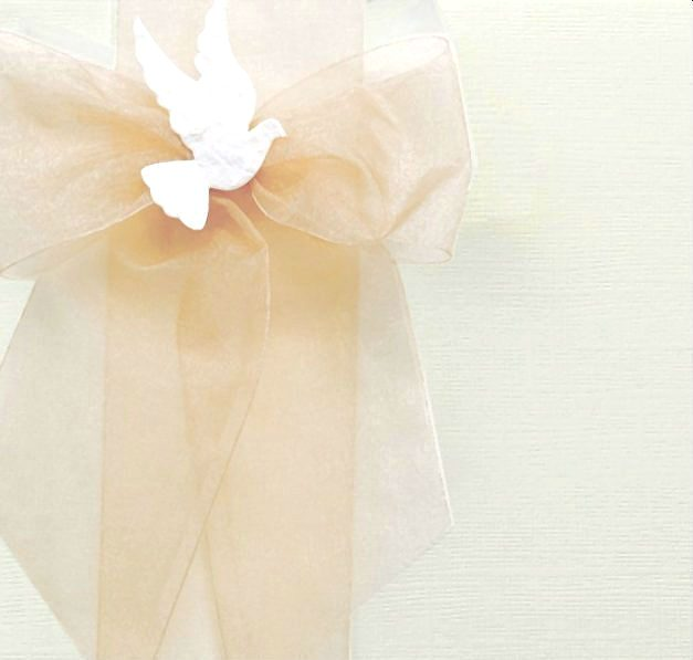 Simple Linen Baptism Keepsake Boxes and Chests