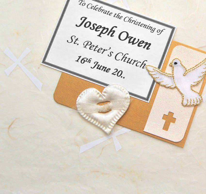 Ivory Crosses Christening Keepsake Boxes and Chests